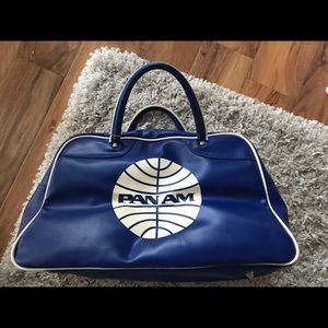 Pan Am Blue Carry On Tote Bag